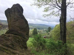 Bunny rock, Tyringham loop trail
