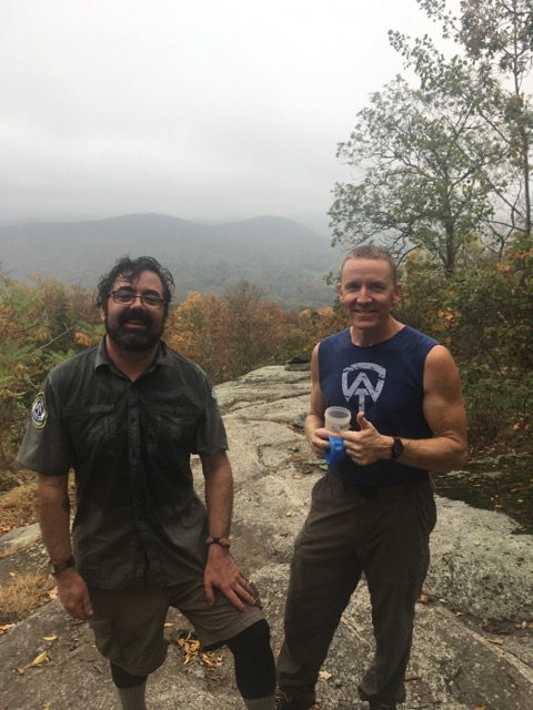 Linus and Brian on Scaghticoke Mtn