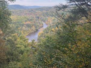 Housatonic Overlook on Herrick Trail